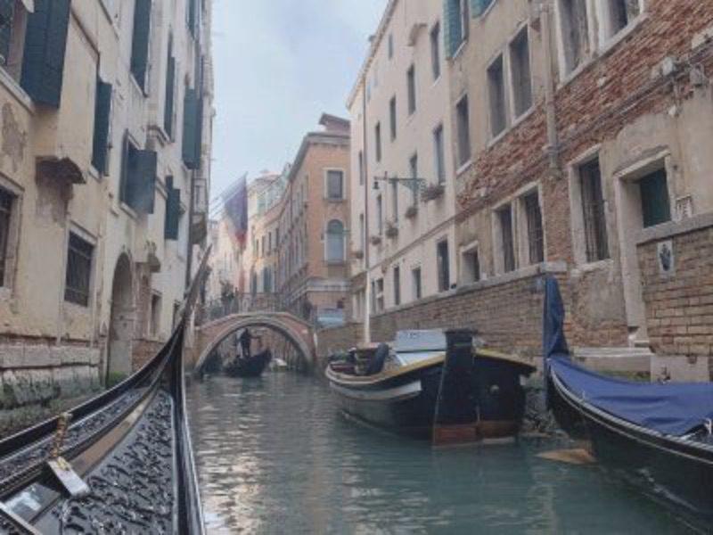 ベネツィアのゴンドラ