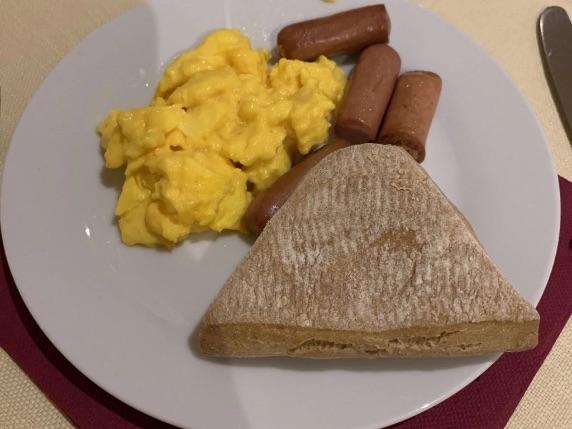 グランドバローネディサッシの朝食