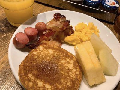 アンバシアトリ朝食