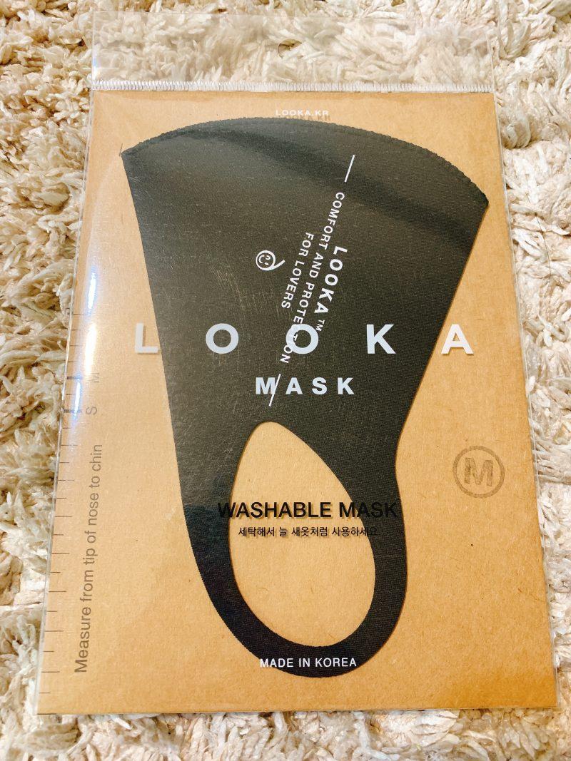 LOOKAの洗えるマスク